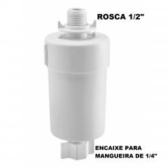 REFIL/FILTRO UNIVERSAL 1/2 (ROSCA) X 1/4 (MANGUEIRA)