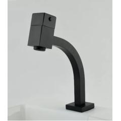 Torneira para banheiro quadrada mod preto matte